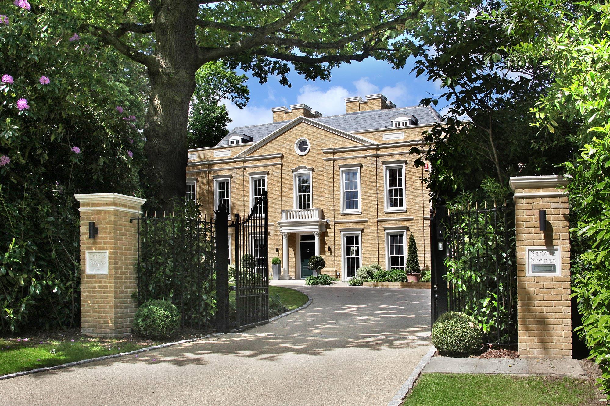7 bed luxury property st george 39 s hill estate weybridge octagon properties 10 million kt13 0pz