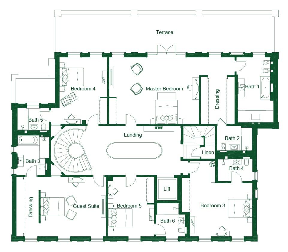 7 Bed Luxury Property St George 39 S Hill Estate Weybridge