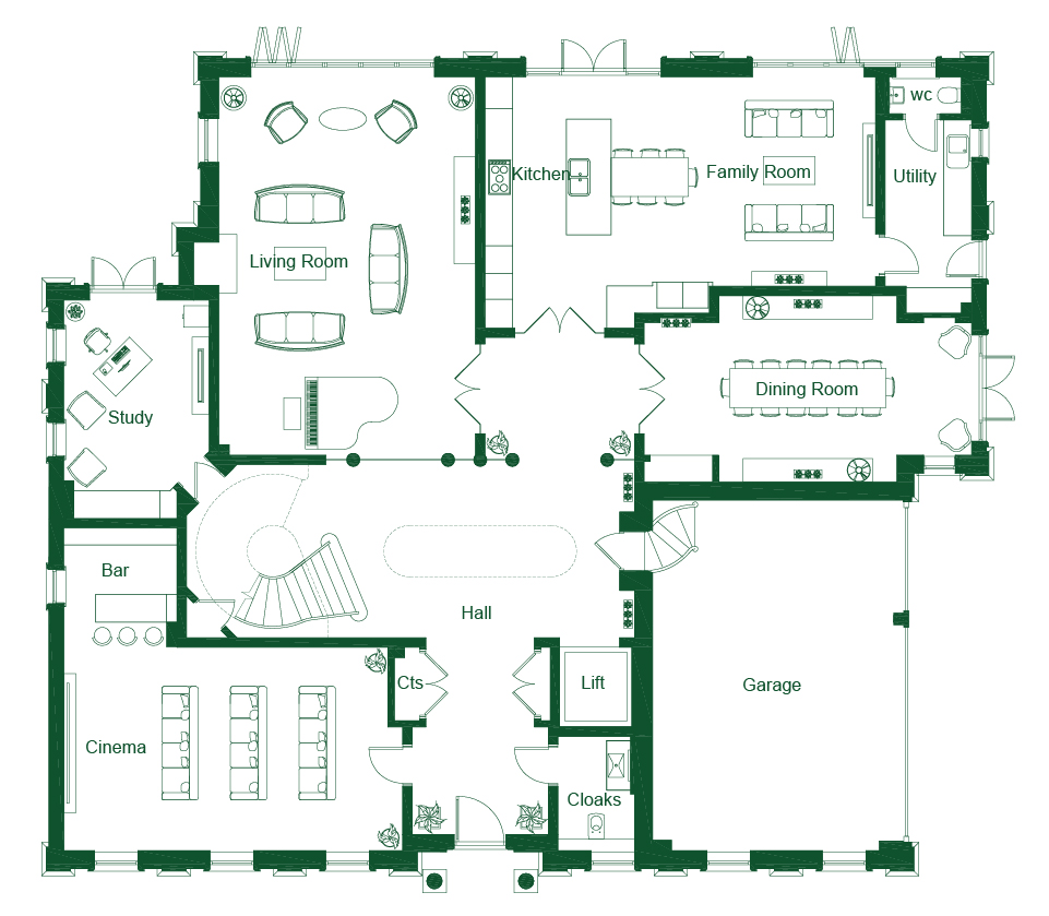 Photo westminster palace floor plan images photo for South cathedral mansions floor plans