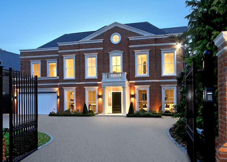 Front Exterior of Southlands in Esher