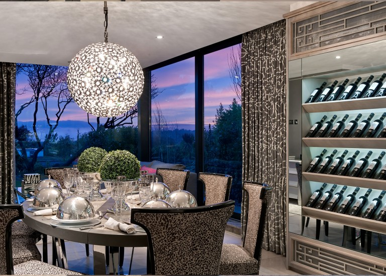 Dining Room and Wine Rack
