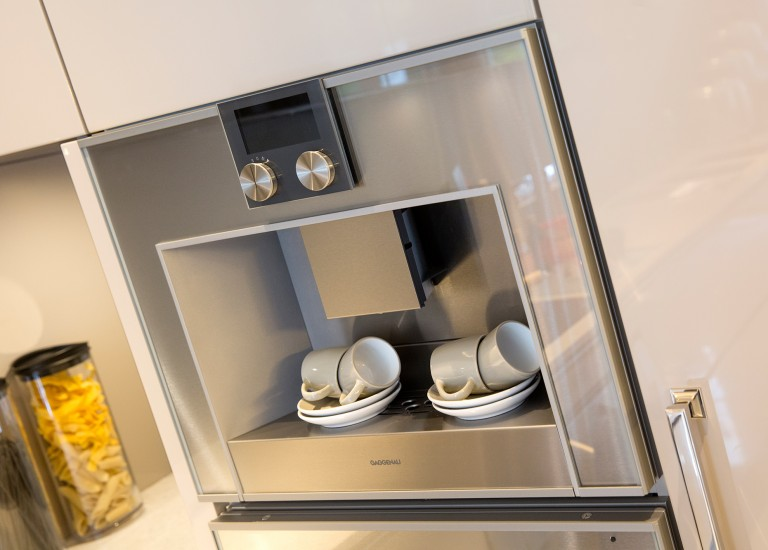 Kitchen Built-in Gaggenau Coffee Machine