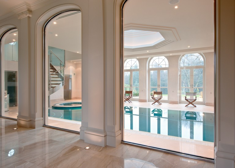 Leisure Suite; Swimming Pool and Jacuzzi with Spiral Staircase