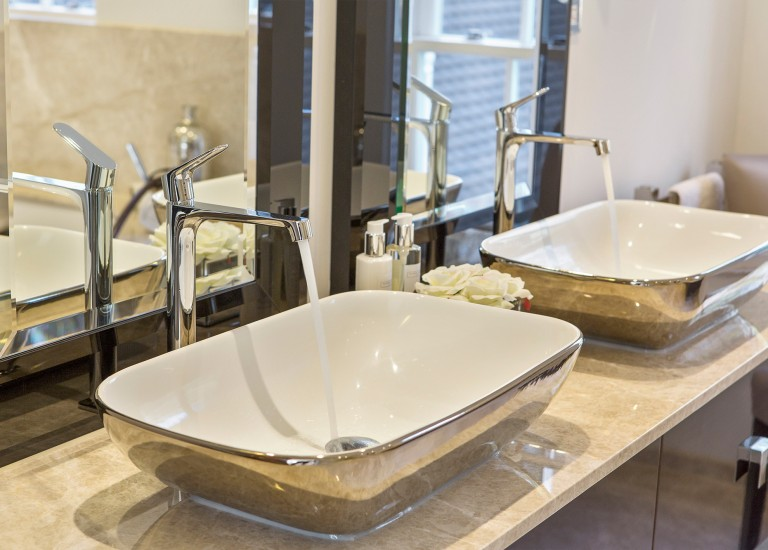 Ensuite Basin and Taps