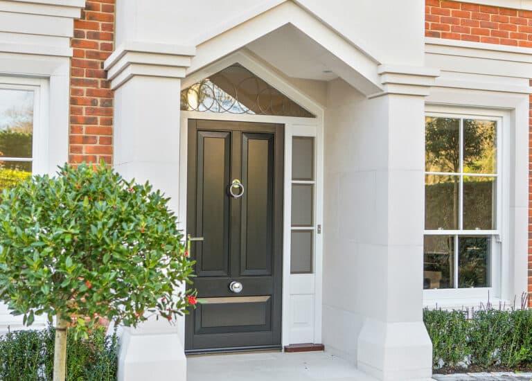 Front Door and Entranceway