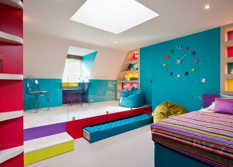 Children's Bedroom with Play Area