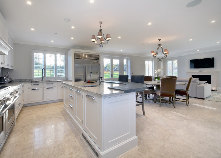 Kitchen, Dining and Family Room
