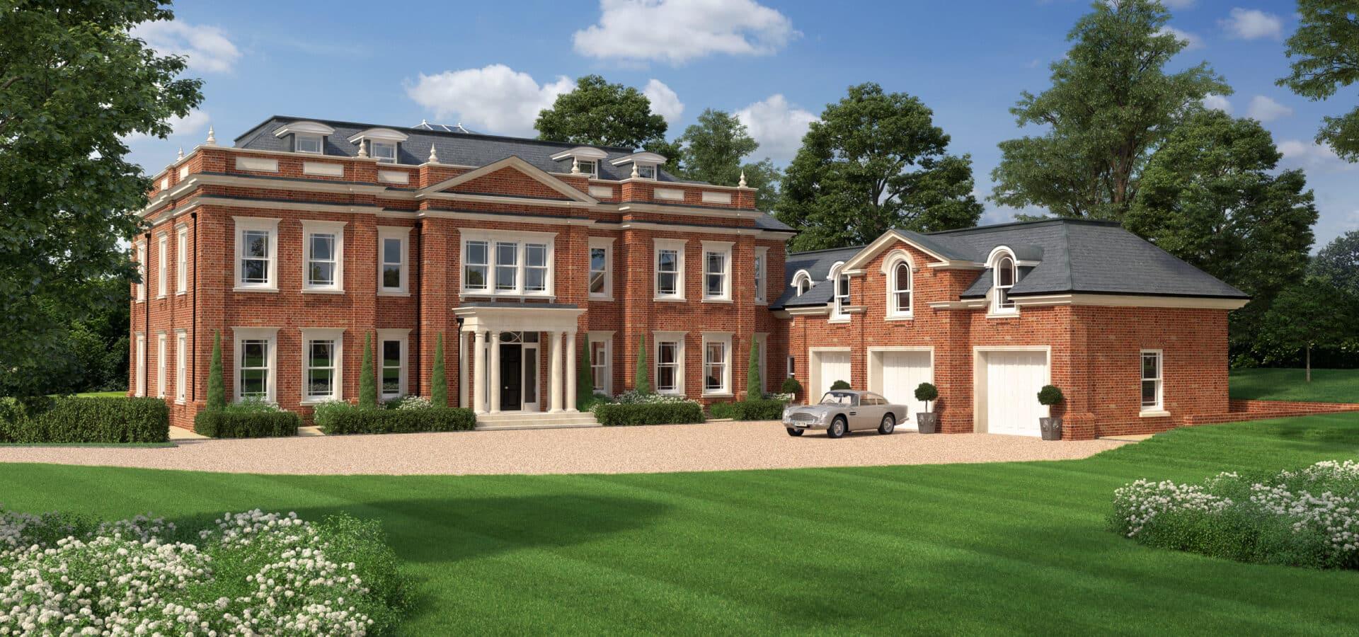 6 Bed Luxury Bespoke Home Wentworth Estate Surrey Little