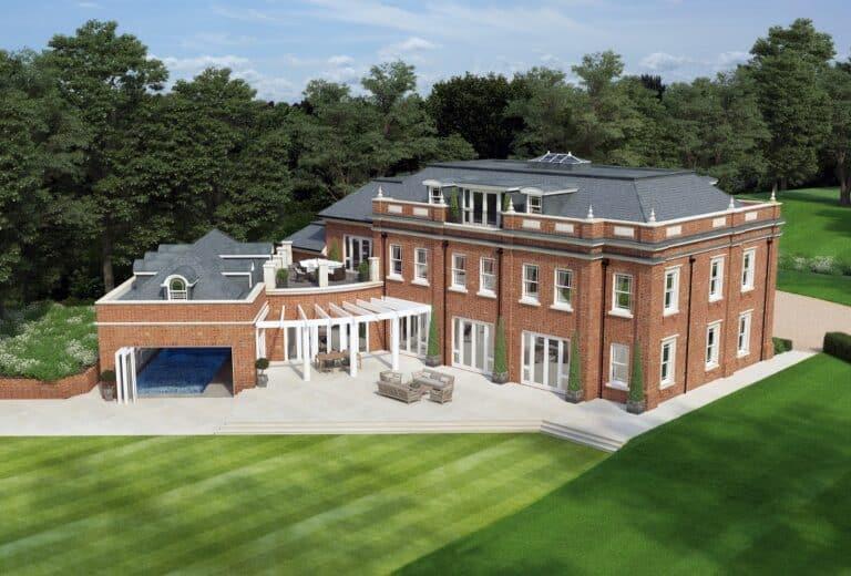 Luxury new properties for sale surrey bucks herts berks london for Modern luxury homes for sale uk