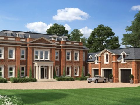 Octagon Developments Hampton Place CGI Front