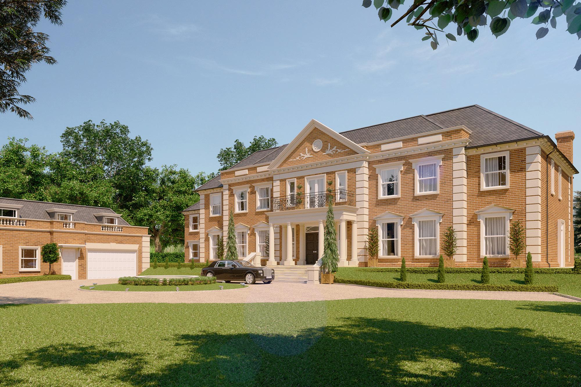Titlarks house octagon for Big estates for sale