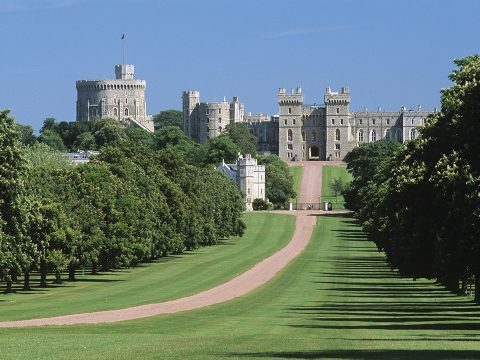 Berkshire Long Walk Windsor Castle