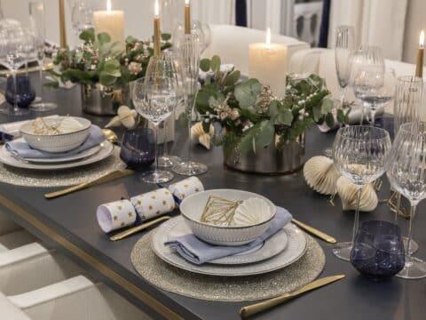 Xmas dining table