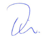 Tim Bank's Signature