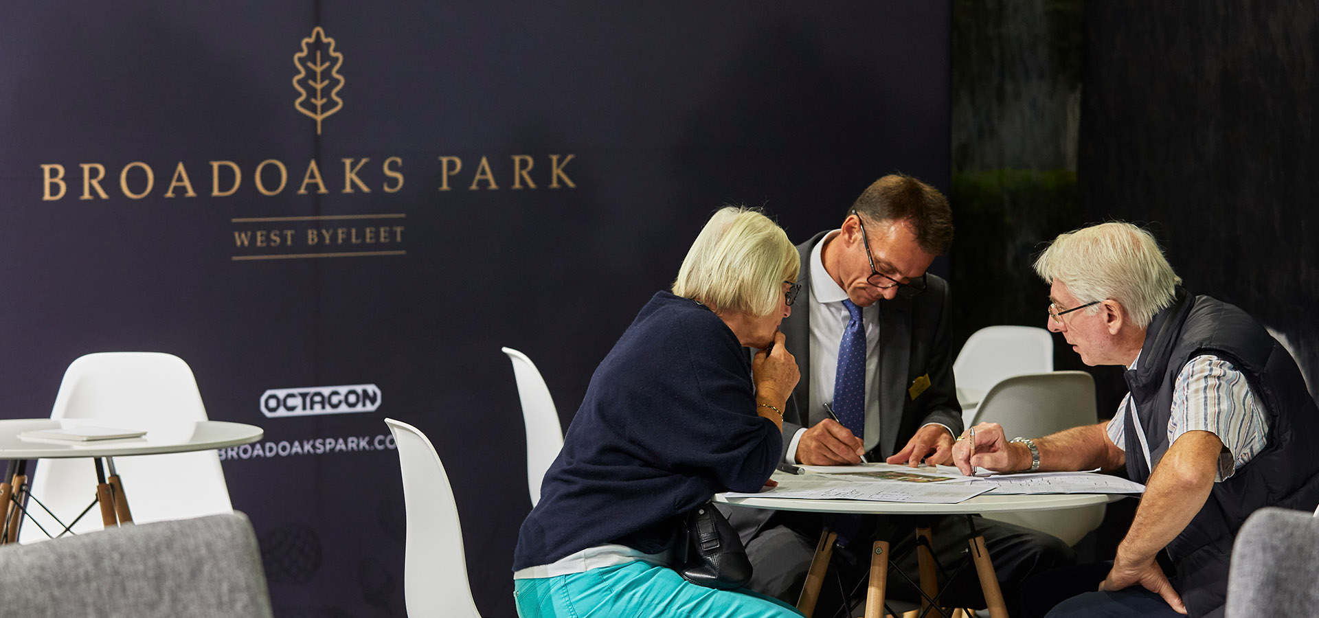Ten homes reserved following the Broadoaks Park Launch Event